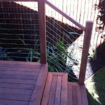 Timber Decking After Construction